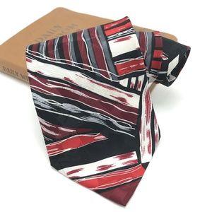 Vintage Pierre Bamain Mens 100% Silk Tie